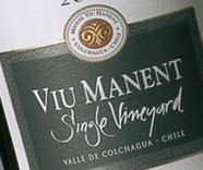 Best Chilean Malbec award for Viu Manent